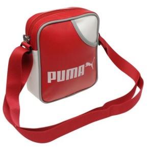 Taštička přes rameno Puma Campus Portable červená
