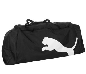 Sportovní taška Puma Team XXL černá s kolečky
