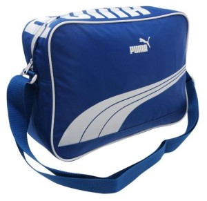 Taška přes rameno Puma Sole Reporter 81 tmavě modrá